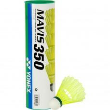 Yonex Mavis 350 пластиковые воланы с зелёной полоской